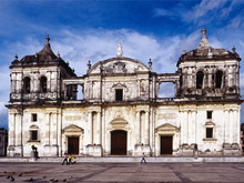Kathedrale in Leon, Nicaragua